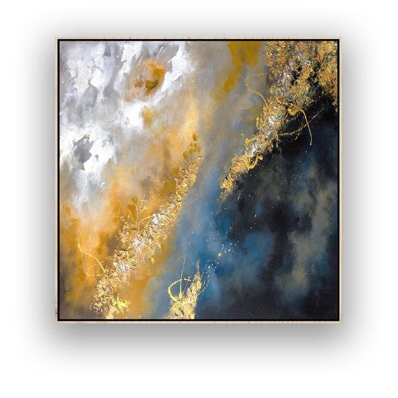 """""""Galactica"""" Oil Painting"""